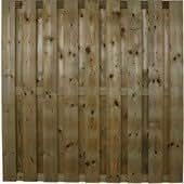 Panneaux de bois exterieur 17 Planches 15x140mm, sans chrome, zingue, arsenicum autoclave 180x180cm