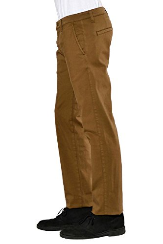Oranjeans - Pantalon chino classique Tabac