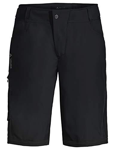 VAUDE Herren Ledro Shorts für den Radsport elastisch Hose, Black, L