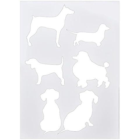 Lychee Art Stampa Stencil di PET Trasparente