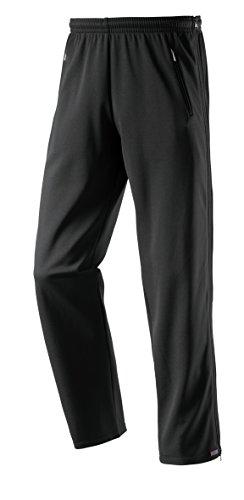 Michaelax-Fashion-Trade Schneider - Herren Sport und Freizeit Hose mit seitlichem Reißverschluss in Schwarz, BERGENM (6060), Größe:28, Farbe:Schwarz (999)