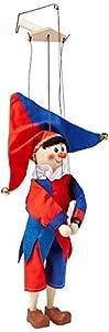 Moravská 18158A Ustredna - Copas de marioneta (30 cm), Color Azul