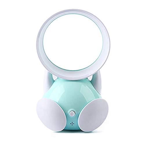 QYWSJ Mini Ventilador de Mesa Sin Cuchillas, con USB Recargable, Viento Fuerte, Funcionamiento Silencioso...