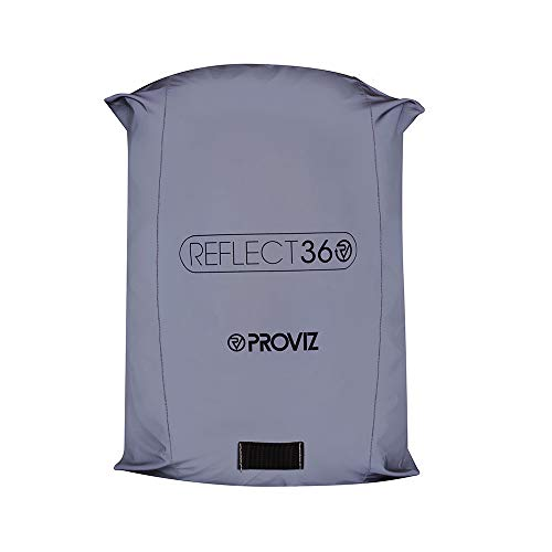 Proviz Reflect 360Impermeabile Zaino Copertura, Uomo, Reflect 360, Silver/Reflective