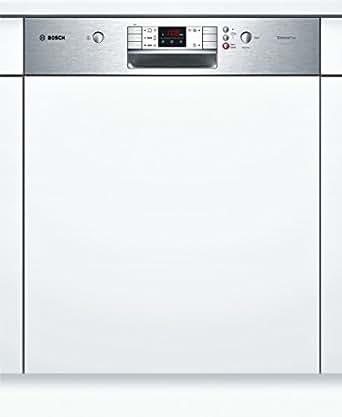 bosch smi57l15eu serie 6 teilintegrierbarer geschirrsp ler einbau a a 13 ma gedecke 48. Black Bedroom Furniture Sets. Home Design Ideas