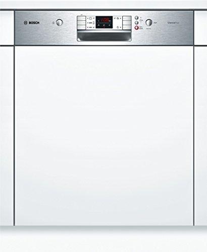 Bosch SMI57L15EU Serie 6 teilintegrierbarer Geschirrspüler / Einbau / A+ A / 13 Maßgedecke / 48 db / Edelstahl / Kindersicherung / VarioSpeed / 59.8 cm
