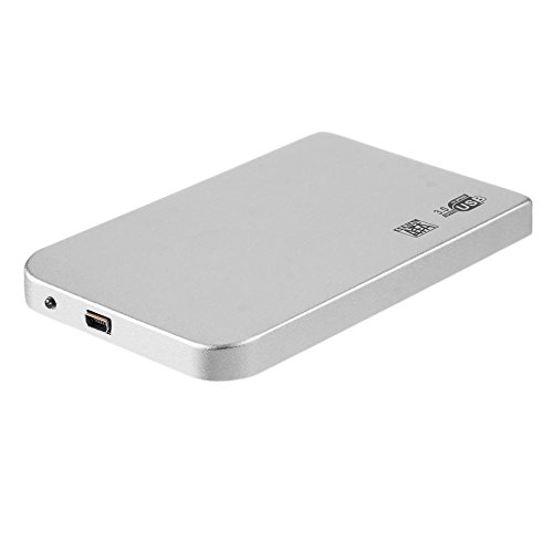 asiproper Ultra Thin 2,5in USB 3.0SATA SSD HDD Festplatte Fall Aluminium Gehäuse Box