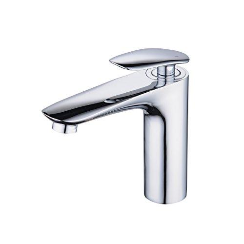 Miscelatore lavabo bagno rubinetto per lavabo rubinetto bagno lavabo rubinetto miscelatore monocomando lavandino bagno acqua fredda e calda cromo,beelee bl6771