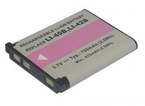 Batería de ion de litio de 3,70V y 700mAh de repuesto para Fujifilm NP-45, NP-45A, NP-45B, FinePix L, J, JV, JX, JZ, XP, Z Serien Cámara Digital batería