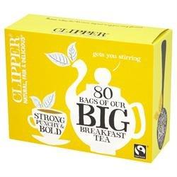 Clipper Big Breakfast Tea, 80 Teebeutel, 250g (Clipper Ice)