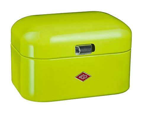 Wesco Grün (Wesco 235 101-20 Single Grandy Brotkasten, lime green)