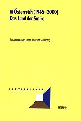 Österreich (1945-2000)- Das Land der Satire (Convergences)