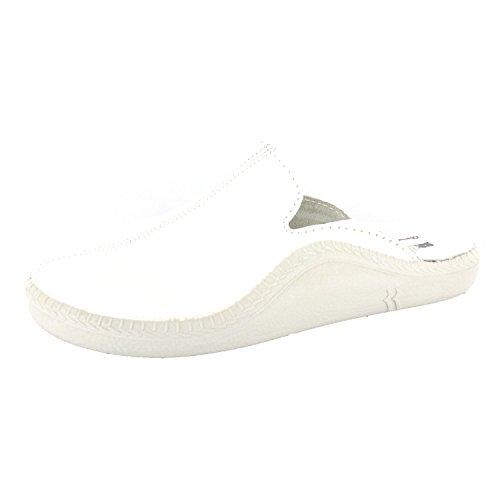Romika Mokasso 202 G Herren Pantoffeln Weiß