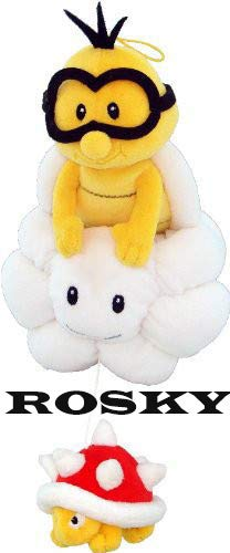 Super Mario - Lakitu Plush - Little Buddy - 20cm 8""