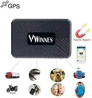 Mini GPS Tracker, Winnes Tragbare Echtzeit GPS Tracker Mini GPS Tracking Anti Verlust GPS Locator für Geldbörse Tasche Brieftasche Kinder Schulranzen Wichtige Dokumente Auto Verloren Finder mit APP