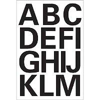 Herma Buchstaben, 25mm, A-Z, wetterfest, Folie, schwarz, 4167 (Buchstaben Selbstklebende)