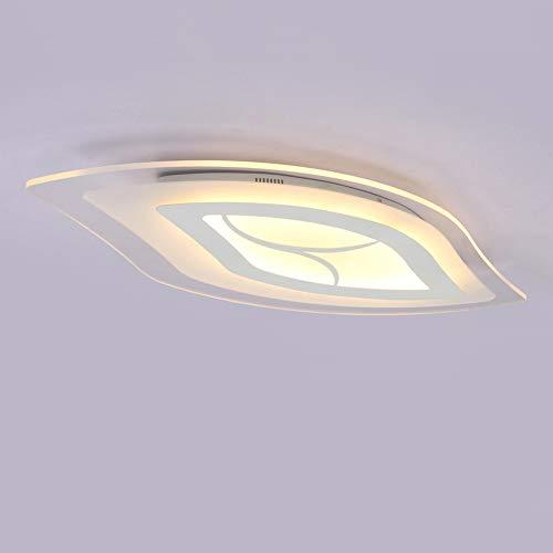 Ultrafina Moderna Lámpara de Techo LED, Minimalista Acrílico Ultrafina Plafones Lamparas de Techo Moda LED Lámpara Dormitori Luces Casera de la Sala de Estar Iluminacióndetecho luz de de Techo
