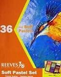36 feine PASTELLKREIDEN Soft Pastellkreide REEVES Set