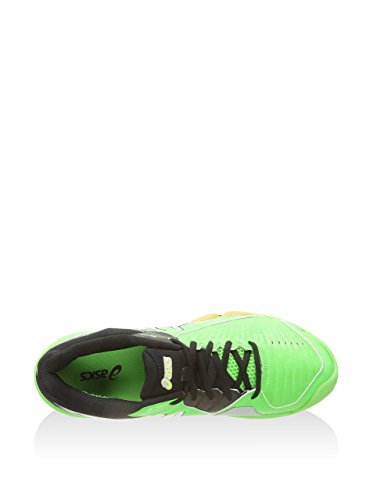 Asics GEL-DOMAIN 3 neon green white black Sportschuhe Grün