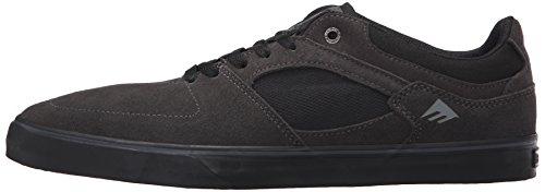 Pattini Uomo chuh Emerica The Hsu Low Vulc Skate Shoes, grigio scuro/nero, 6.5 Grigio scuro/Nero