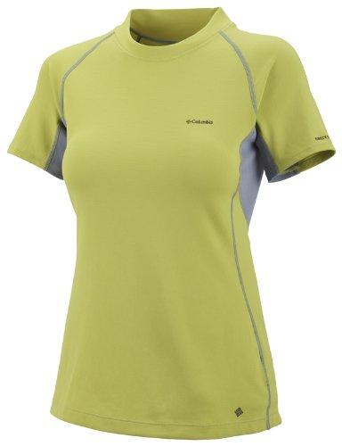 Columbia Kurzarmshirt Women's Bug Shield Sporty Short Sleeve Top chartreuse (Größe: S) (Tee Shield Womens)