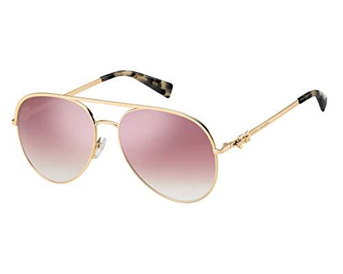 Marc Jacobs Sonnenbrillen (MARC-DAISY-2-S DDBVQ) gold-kupfer - pflaumenfarben verlaufend - verspiegelt
