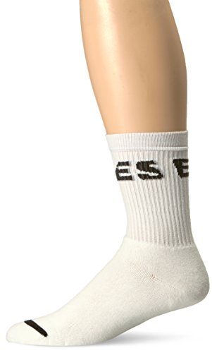 Diesel Herren SKM-RAY Band Socken, weiß, Medium