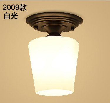 American-style ceiling lamp led aisle lights bedroom balcony porch in