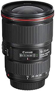 Canon Zoomobjektiv EF 16-35mm F4L IS USM Ultraweitwinkel für EOS (77mm Filtergewinde, Bildstabilisator), schwa