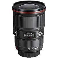 Canon Obiettivo EF 16-35 mm f/4L IS USM SLR, paraluce EW‐82 incluso, Nero