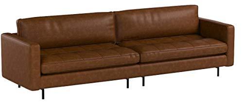 3 Sitzer Sofa RODEO CLASSIC Echtleder Leder Lounge Couch Ledersofa cognac