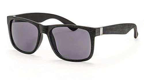 Filtral Sonnenbrille in Holzoptik/Eckige Sonnenbrille für Herren mit flexiblen Federbügeln F3024309