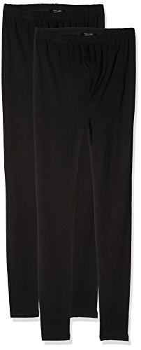 New Look Maternity Damen Umstands Leggin 2PP Viscose, Schwarz, Medium