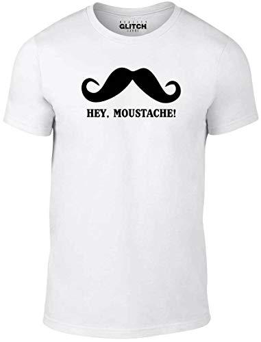 Hey Moustache T-Shirt Funny T Shirt Impractical Jokers Joke Q Sal Jo Retro Mur