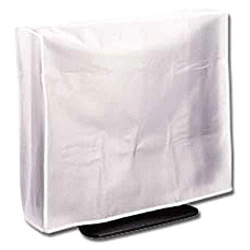 PrimeMatik - Bildschirm Staubschutz-Hülle für Monitore Flachbildschirm LCD TV 17' 56x15x45 cm
