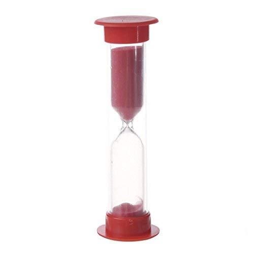 Sanduhr - SODIAL(R) Multifarbige Sanduhr 1-10 Minuten (Rot 10 Minute)