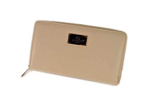 gallantry-portefeuille-femme-multifonction-tout-en-un-porte-monnaie-porte-carte-avec-fermeture-beige