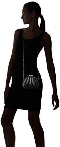 Pepa Loves Shell Clutch, bourse Noir (Black)