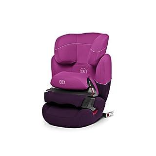 CBX by CYBEX Aura-fix, Autositz Gruppe 1/2/3 (9-36 kg), Kollektion 2015, Purple Rain