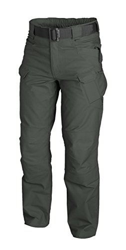URBAN TACTICAL PANTS¨ - PolyCotton Canvas - Jungle Green (Hose Leg Cuff Wide)