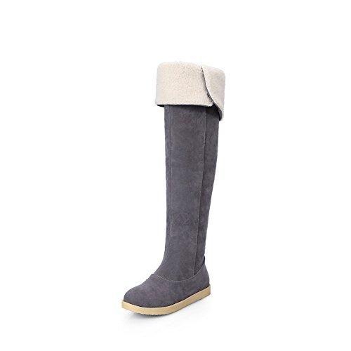 A&N - Stivali da Neve donna Gray