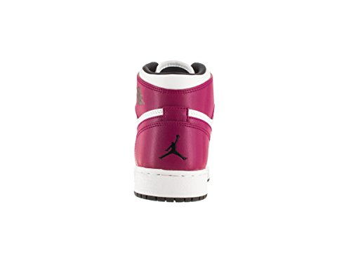 Nike Pantalon de sport 3/4 pour Homme Blanc / noir / violet (blanc / noir - fuchsia sport)