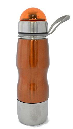 Portátil 700ml bebidas Sport hidratación botella de agua de acero