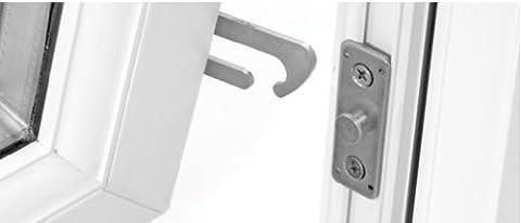 UPVC Concealed Window Restrictor Safety Catch Child Lock Restrictor Left Hand
