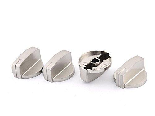 d Backofen Herd Hitze Einstellknopf Range Schalter Knopf, (4Stück) ()