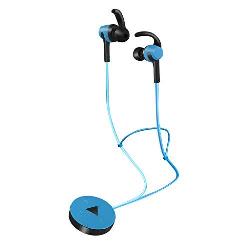 bluetooth kopfhorer in ear Kopfhörer Leuchtender Kopfhörer Florescence Bluetooth 4.2 Headset (Blau)