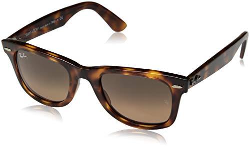 Ray-Ban Unisex-Erwachsene 0RB4340 Sonnenbrille, Braun (Red Havana), 50