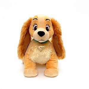 "Disney Lady and the Tramp 15"" Lady Soft Plush Dog"