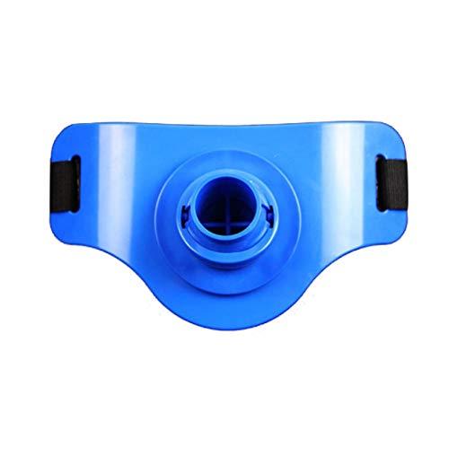 Dhrfyktu Arnés de Hombro Distribución de la Carga Prevención de esguinces Hombro para la Pesca en el mar (Color : Blue)