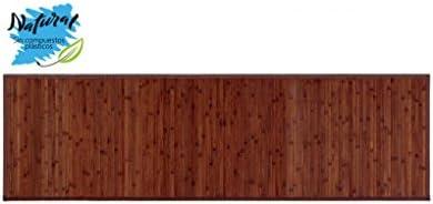 Alfombra pasillera de Bambú Natural de Nogal para Pasillo, 60x200cm - Natural - Hogar y más